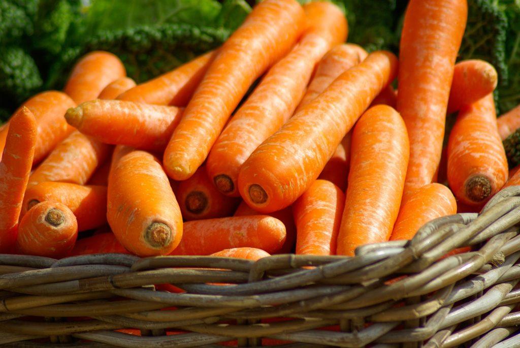 carrots for eye