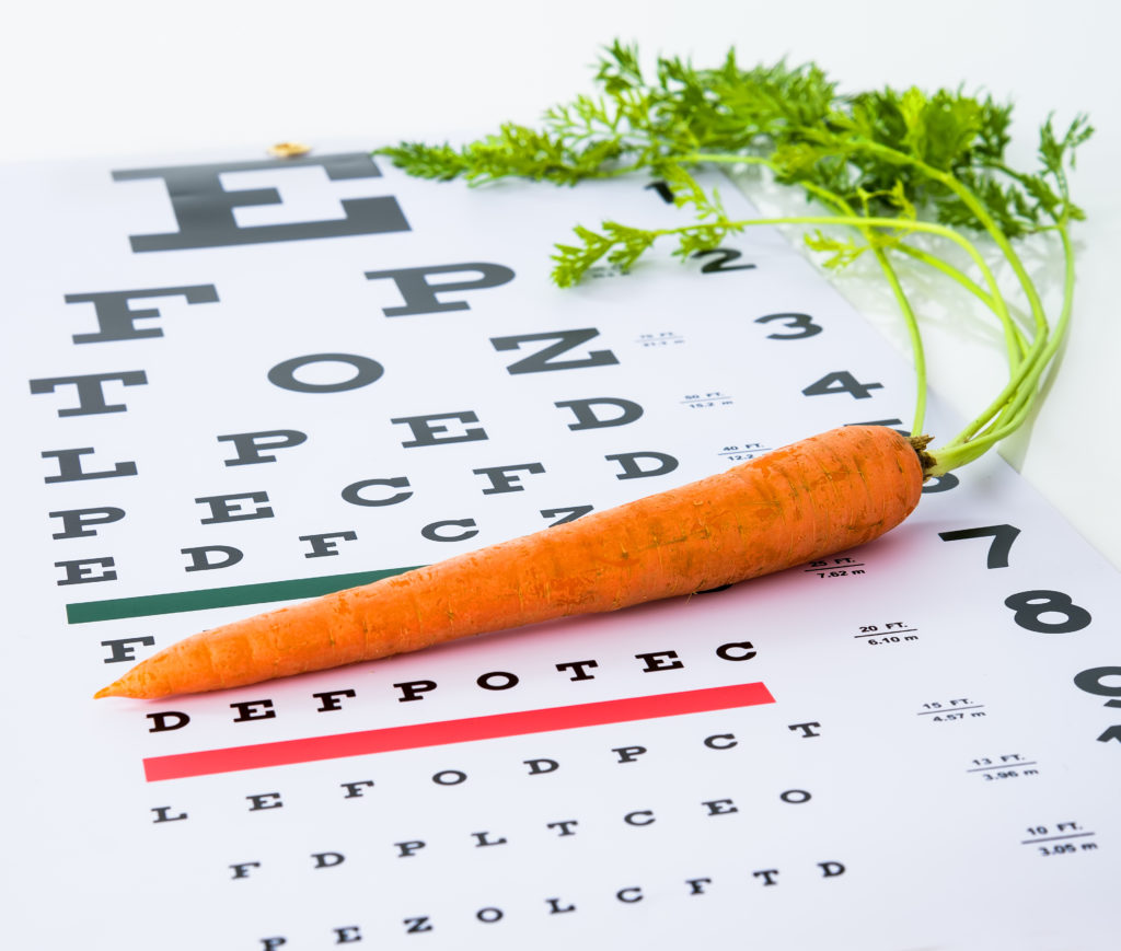 Do carrots really improve eyesight?
